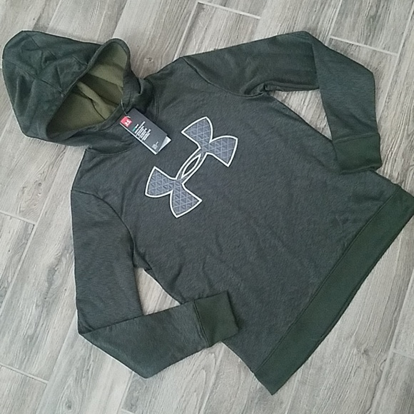 Under Armour Tops - NWT Dark Green Under Armour hoodie
